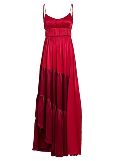 Amur Zaidee Two-Tone Silk Gown