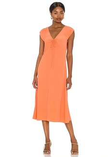 AMUSE SOCIETY Here For It Short Sleeve Woven Dress