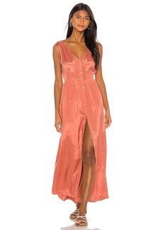 AMUSE SOCIETY Marlena Woven Maxi Dress