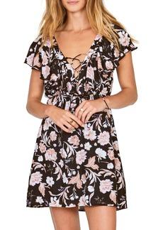 Amuse Society Play Nice Lace-Up Dress
