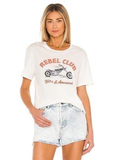 AMUSE SOCIETY Rebel Club Short Sleeve Knit Tee