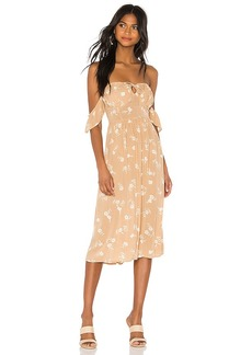 AMUSE SOCIETY Regency Midi Dress