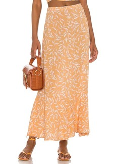 AMUSE SOCIETY Reina Woven Maxi Skirt
