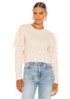 AMUSE SOCIETY Rocha Long Sleeve Knit Sweater