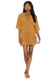 AMUSE SOCIETY Sandalwood Woven Mini Dress