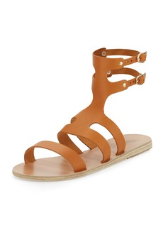 Ancient Greek Sandals Agapi Flat Leather Gladiator Sandal