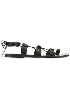 Ancient Greek Sandals 'Alcyone' lace-up sandals - Black