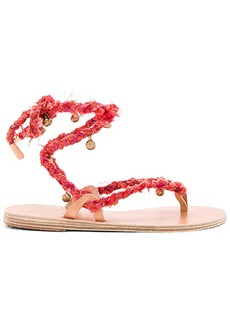 Ancient Greek Sandals Atropos Sandal in Red. - size 36 (also in 37,38,39)