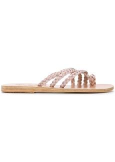 Ancient Greek Sandals braided sandals - Nude & Neutrals