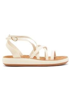 Ancient Greek Sandals Delia Comfort leather flatform sandals