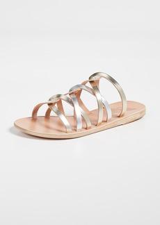 Ancient Greek Sandals Donousa Slides
