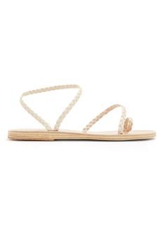 Ancient Greek Sandals Eleftheria braided-leather sandals