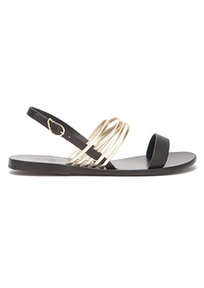 Ancient Greek Sandals Eretria slingback leather sandals