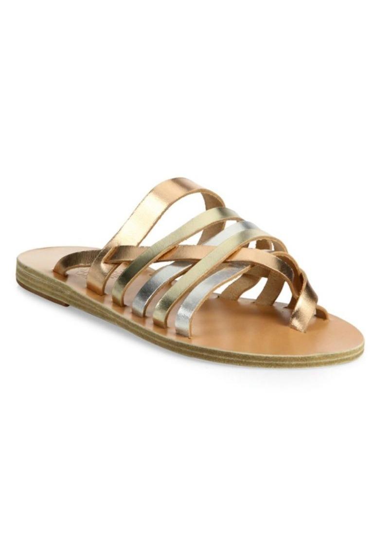 dea28e03c73e On Sale today! Ancient Greek Sandals Gaia Metallic Vachetta Leather ...