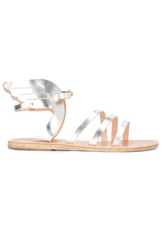 Ancient Greek Sandals gladiator sandals - Metallic