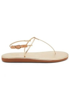 Ancient Greek Sandals Katerina T-bar leather sandals