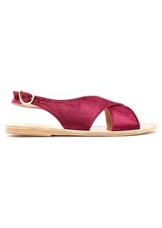 Ancient Greek Sandals Maria velvet sandal