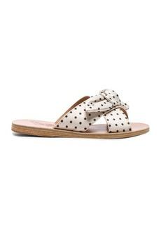 Ancient Greek Sandals Satin Thais Bow Sandals