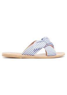 Ancient Greek Sandals Thais cross-strap leather sandals