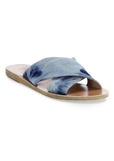 Ancient Greek Sandals Thais Crossover Slide Sandals