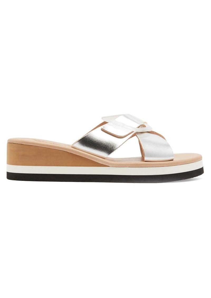 7bc3c478c58 Ancient Greek Sandals Ancient Greek Sandals Thais Rainbow leather ...