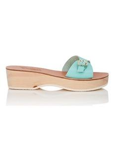 Ancient Greek Sandals Women's Filia Sabot Leather Sandals