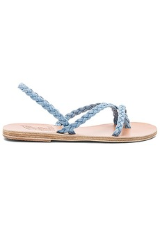 Ancient Greek Sandals Yianna Denim Sandal in Baby Blue. - size 36 (also in 38,39,41)