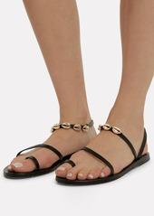 Ancient Greek Sandals Apli Eleftheria Shell Sandals