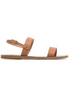 Ancient Greek Sandals Clio double strap leather sandals