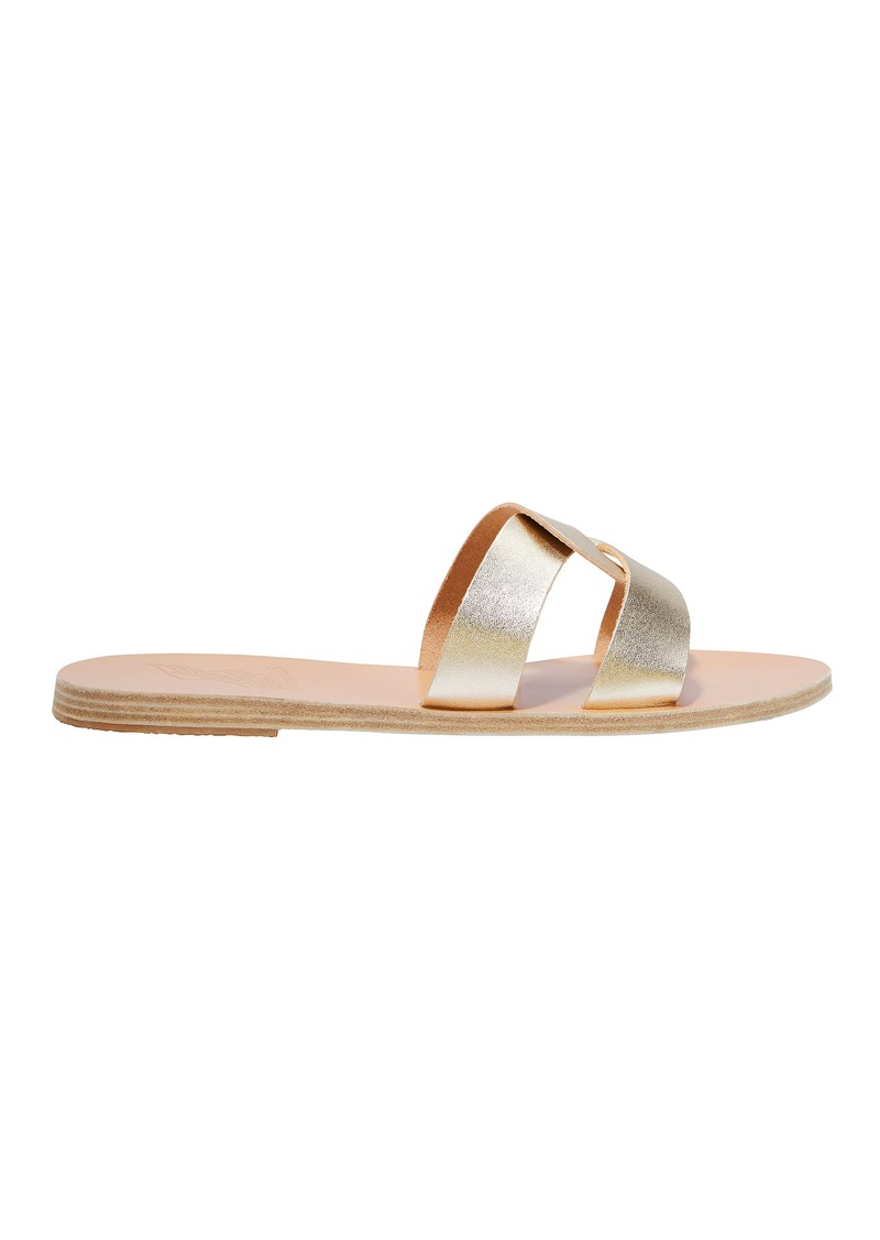 33cb2c79af71d Ancient Greek Sandals Desmos Platinum Sandals