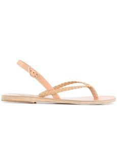 Ancient Greek Sandals hera braids sandals