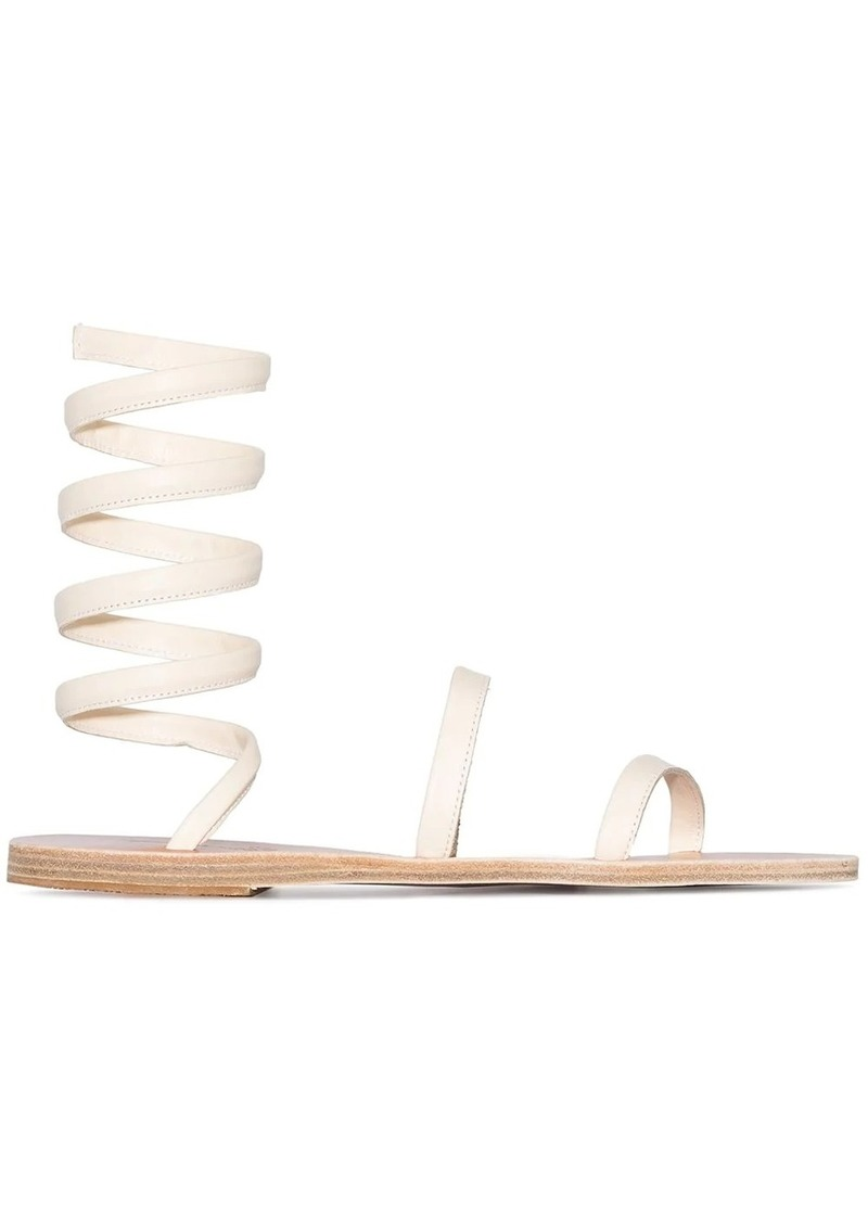 Ofis ankle-wrap sandals