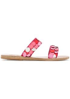 Ancient Greek Sandals sequin embellished sandals