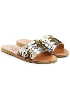 Ancient Greek Sandals Taygete Sandals with Sequins
