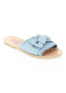 Ancient Greek Sandals Taygette Bow Leather Sandals