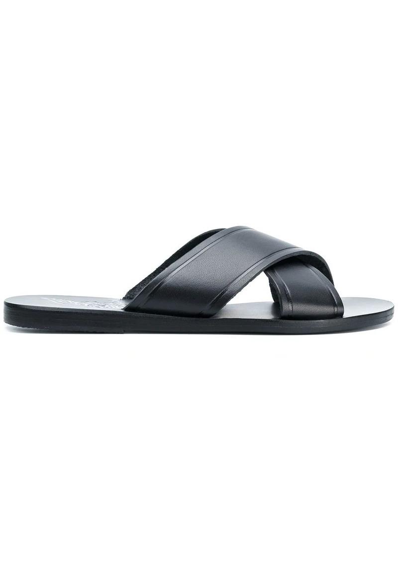 Ancient Greek Sandals Thais flat sandals
