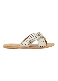 Ancient Greek Sandals Thais Polka Dot Sandals