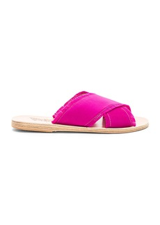 Ancient Greek Sandals Thais Satin Sandal