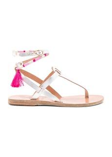 Ancient Greek Sandals x lemlem Estia Wrap Sandal