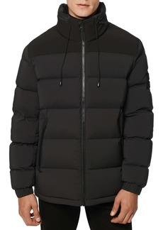 Andrew Marc Arcadia Water Resistant Quilted Down Coat