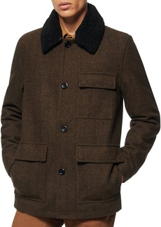 Andrew Marc Benito Wool Coat