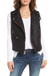 Andrew Marc Billie Faux Leather Vest