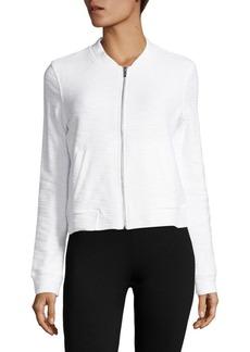 Andrew Marc Cotton Zip-Up Jacket