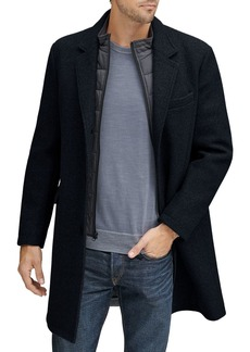 Andrew Marc Cunningham Stretch Wool Top Coat