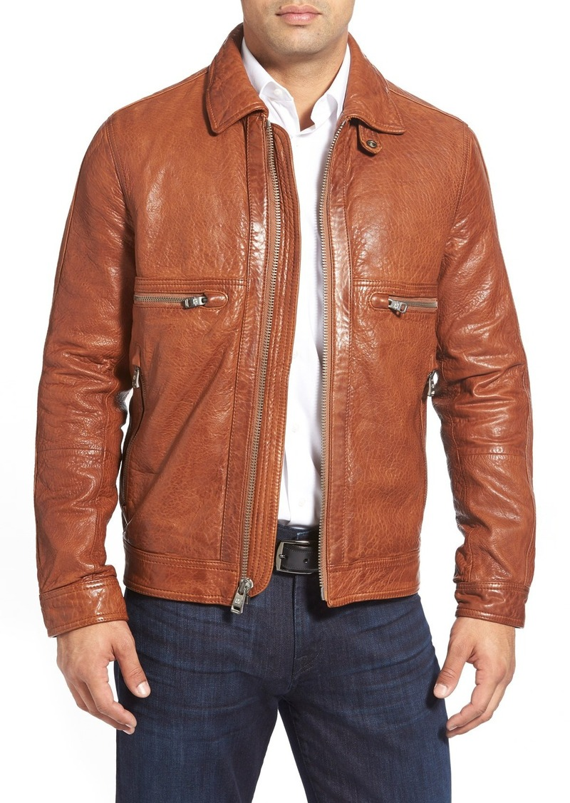 Andrew marc leather jacket sale