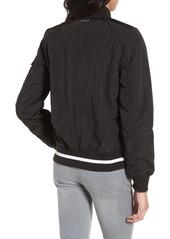 Andrew Marc Foster Nylon Twill Bomber Jacket