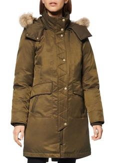 Andrew Marc Fur-Trim Parka