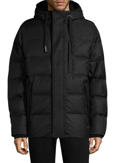 Andrew Marc Groton Hooded Down Puffer Jacket