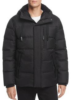 Andrew Marc Groton Hooded Puffer Jacket