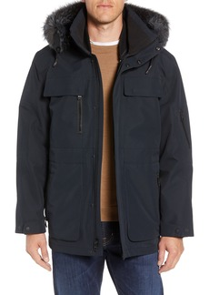 Andrew Marc Hamilton 3-in-1 Down Parka with Genuine Fox Fur Trim